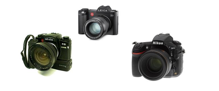 Leica R5 ELCOVISION - Leica SL2 - Nikon D850